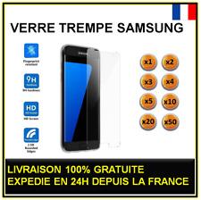 Vitre verre trempé SAMSUNG Galaxy S4 S5 S6 S7 protection écran lot 2 3 4 5 10 20