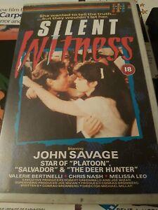 SILENT WITNESS - CASTLE HOME VIDEO IVS - VHS - BIG BOX - EX RENTAL