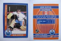 2015 SCA Bob Dupuis Edmonton Oilers goalie never issued produced #d/10