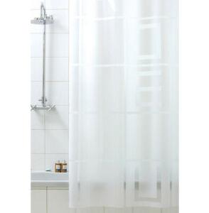 Tenda doccia bagno antimuffa impermeabile ganci inclusi made in italy moderna
