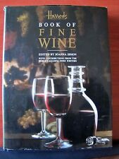 Harrods Book of Fine Wine - Joanna Simon 1990 HC