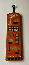 Vintage Wert Baked Goods Bakery Wood Kitchen Sign Decor Wall Hanging