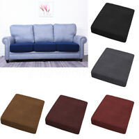 1-4 Seats Replacement Settee Sofa Seat Cover Couch Slip covers Cushion Protector