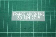 FRANCE World Cup 2018 Home Shirt Match Details FRANCE Vs ARGENTINE