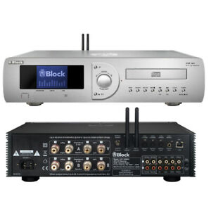 BLOCK Audio CVR-100+ MKII CD-Internet-Receiver / Verstärker DAB+ WiFi   NEU OVP