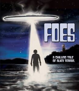 "FOES (1977) ""Lost"" HORROR/SCI-FI Blu-ray release!  Evil UFOs!"