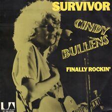 "CINDY BULLENS – Survivor (1978 SINGLE 7"" HOLLAND)"