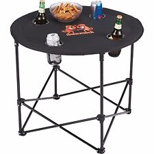 Game Day Folding Table (4 person) picnic CAmp'N RV'N tailgate rallies poker run
