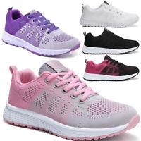 Damen Laufschuhe Turnschuhe Atmungsaktiv Sneakers Flache Schn¡§1rung Sportschuhe