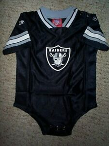 Las Vegas Raiders nfl Football INFANT BABY NEWBORN Jersey 24M M 24 Months
