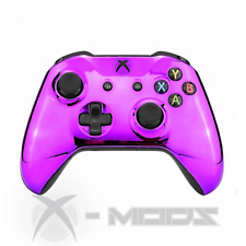 XBOX ONE CUSTOM CONTROLLER - Chrome Purple - X-Mods