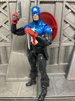 "Marvel Legends Hasbro Arnim Zola BAF Bucky Captain America 6"" Inch Action Figure"