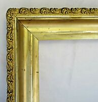 "ANTIQUE FITS 10""X 14""  GOLD GILT ORNATE WOOD PICTURE FRAME FINE ART VICTORIAN"