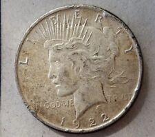 1922 D Peace Dollar rare silver coin KM# 150