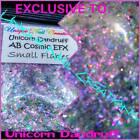 AB Cosmic EFX Flakes~UNICORN DANDRUFF~Nail•Acrylic•Gel•Body Art•Face•Festival