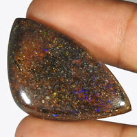 43.80Cts. 100% Natural Australian Koroit Boulder Opal Fancy Cab Loose Gemstone