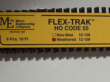 HO Micro-Engineering #12-108 HO-SCALE Code 55 Flex Track WEA. BIGDISCOUNTTRAINS