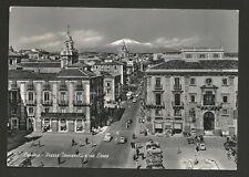 AD6441 Catania - Città - Piazza Università e via Etnea - Animata