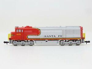 N Scale Minintrix 51201200 ATSF Santa Fe U30CG Diesel Locomotive #405