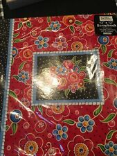 """Mary Engelbreit """"Breit Red� 12 X 12 Scrapbook 20 Page Protectors W/ Sheets-New"""