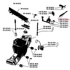 PRINTEMPS (tank assembly) HUSQVARNA 44 - 501413701