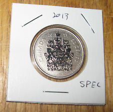 2013 Canada Fifty Cents - SPECIMAN