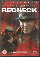 Redneck (DVD, 2004). Telly Savalas, Franco Nero. Italian crime thriller.