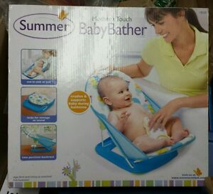 NEW Summer Infant Mother's Touch Portable Travel Baby Bather #18520