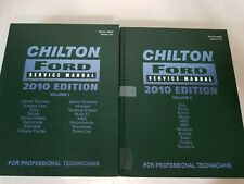 Chilton's Ford Service Manual 2010 Edition Volumes 1&2