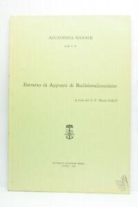 ESTRATTO DI APPUNTI DI RADIOLOCALIZZAZIONE ACCADEMIA NAVALE LIBRO ITA ML3 74073