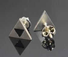 The Triforce Legend of Zelda inspired Earrings Sterling Silver .925