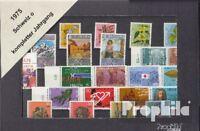Schweiz gestempelt 1975 kompletter Jahrgang in sauberer Erhaltung
