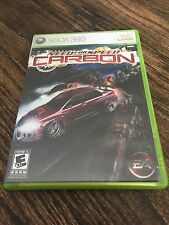 Need For Speed Carbon Xbox 360 Cib Game XG3