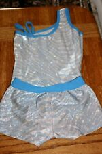 Gymnastics Leotard By Basic Moves 2 Piece Set 22 1/2�. Used Condition.
