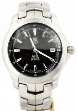Tag Heuer Link Automatic 40MM Black Dial. Ref: WJF2110