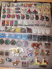 Kentucky Derby Festival Pins and Race HORSE 90 pins 1 Gold FREE SHIP MAKE OFFER