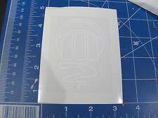 vtg Z Flex skateboard sticker Zephyr Jellyfish resto deck white