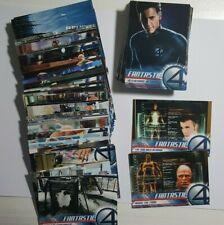2005 Marvel Fantastic Four Movie Upper Deck Full Set 100 Cards