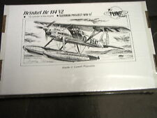 Heinkel He 114 V-2  Luftwaffe Float Plane Planet Resins 1/72 034