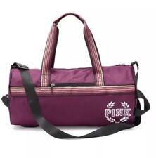 Victoria's Secret Pink Campus PURPLE Retro Duffle Gym Bag Tote School Sport