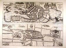 Antique map, Oitinense (alt. Oitinum) / Tonderensis (alt. Tundera)