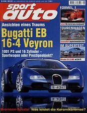 sport auto 5/01 2001 SLK 32 AMG Alpina D10 Nick Heidfeld Impreza WRX Volvo S60 T