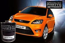 Ford ST Electric Orange 500ml Paint - includes Groundcoat & Pearl Mid-coat