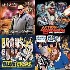 Action Bronson - Mixtape CD Collection Blue Chips 2 Rare Chandeliers Bon Appetit