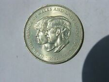 Prince Charles and Lady Diana Spencer Commemorative British Coin 1981