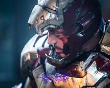 Robert Downey Jr Iron Man 3 SIGNED 10X8 REPRO PHOTO PRINT