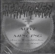 AGATHOCLES - ALIVE & MINCING (Live) CD - NEUF / scellé (2004) GRINDCORE