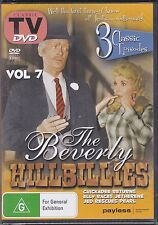 BEVERLY HILLBILLIES VOL 7 - DVD - 3 CLASSIC EPISODES -