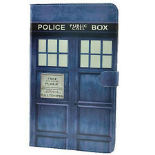 Doctor Who Tardis Leather Flip Stand Case Smart Cover For Apple ipad mini 1 2 3