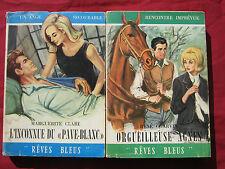"""""""rêves bleus"""" - L'INCONNUE DU PAVE BLANC M. CLARE / ORGUEILLEUSE AGNES R CHARVIN"""